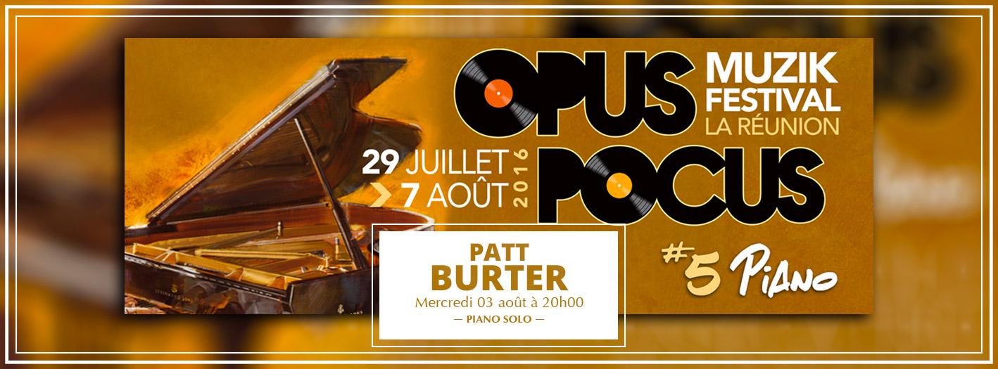 Patt Burter - Opus Pocus