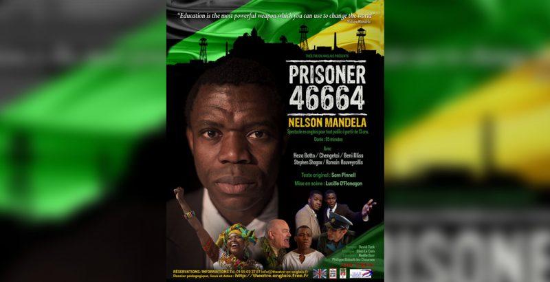 46664 : Prisoner Nelson Mandela-1