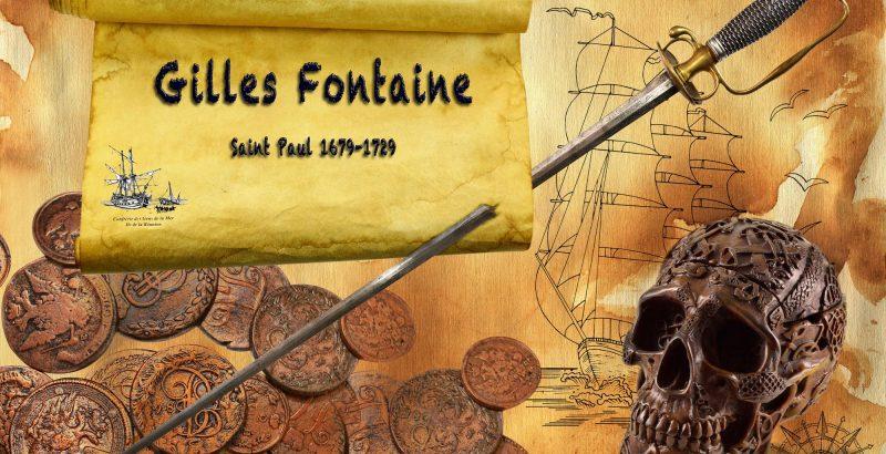 Découvrez l'histoire du pirate saint-paulois : Gilles Fontaine