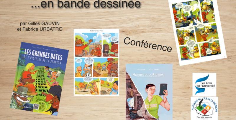 Ecrire l'histoire de La Réunion... en bande dessinée